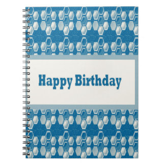HAPPYbirthday happy+Birthday Greetings Celebration Notebooks