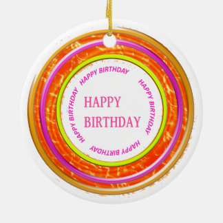 HappyBIRTHDAY Happy+BIRTHDAY ORNAMENTS
