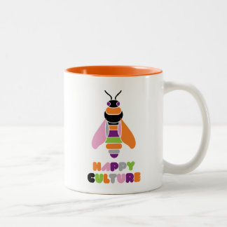 Happyculture Honey Bee Two-Tone Coffee Mug