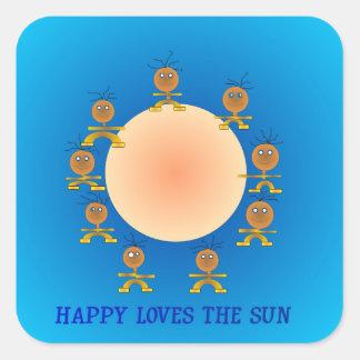 Happyface Cartoon Character>Childrens Sticker