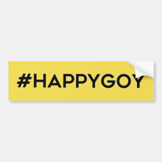 Happygoy Bumpersticker Bumper Sticker