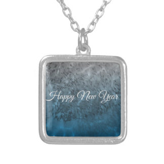 happynewyear.JPG Silver Plated Necklace