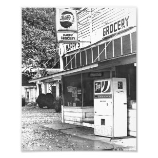 Happy's Grocery Store, Ottawa, Kansas 1970s Photo Print