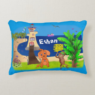Happy's Lighthouse by The Happy Juul Company Decorative Cushion