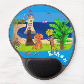 Happy's Lighthouse by The Happy Juul Company Gel Mouse Pad