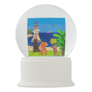 Happy's Lighthouse by The Happy Juul Company Snow Globes