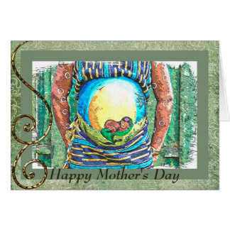Happy's Mother's Day for Expectant African America Card