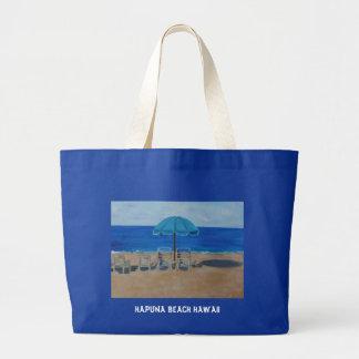 HAPUNA BEACH HAWAII LARGE TOTE BAG
