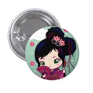 Harajuku Girl Ayaka 3 Cm Round Badge