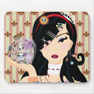 Harajuku Girl Mayumi Mouse Pad