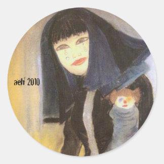Harajuku Girl Sticker