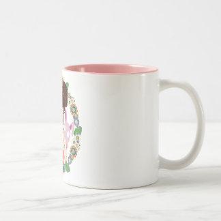 Harajuku Girl Yuriko Two-Tone Mug