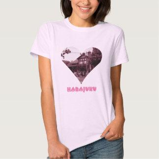 Harajuku Heart Tee Shirts