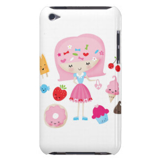 Harajuku Japanese Girl ipod case iPod Touch Cover