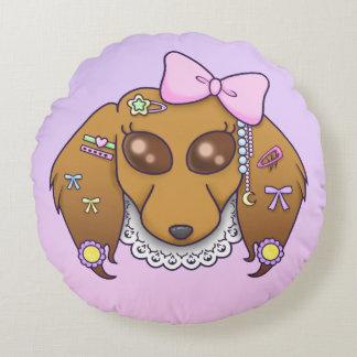 Harajuku Lolita Weenie Round Cushion