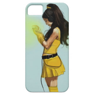 Harajuku Yellow Dress Girl Case For The iPhone 5