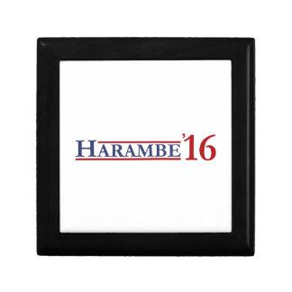 Harambe 2016 small square gift box