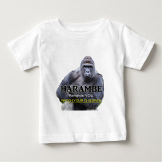 Harambe Gorilla Baby T-Shirt