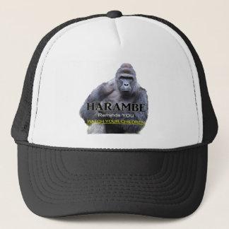 Harambe Gorilla T-Shirt Trucker Hat