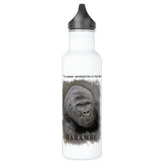 Harambe (Graphite Drawing) 710 Ml Water Bottle