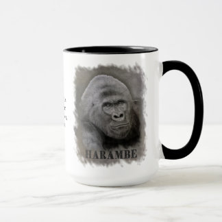 Harambe (Graphite Drawing) Mug