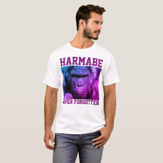 HARAMBE NEVER FORGOTTEN T-shirts