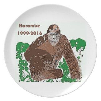 Harambe Plate
