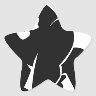 HARAMBE REST IN PEACE T-SHIRT STAR STICKER