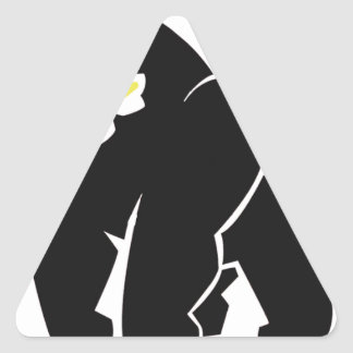 HARAMBE REST IN PEACE T-SHIRT TRIANGLE STICKER