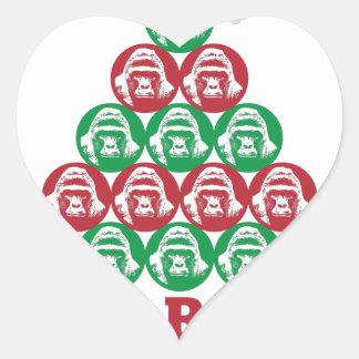 Harambe Tree Heart Sticker