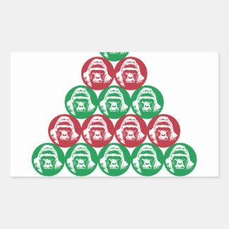 Harambe Tree Rectangular Sticker
