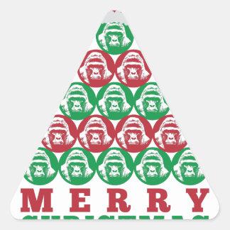 Harambe Tree Triangle Sticker