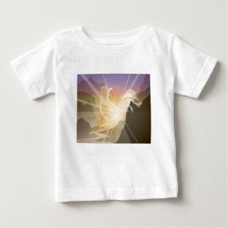 Harbinger of Light - Sunrise Rooster Baby T-Shirt