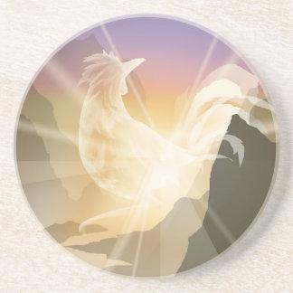 Harbinger of Light - Sunrise Rooster Coaster