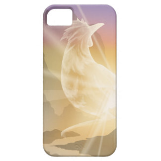 Harbinger of Light - Sunrise Rooster iPhone 5 Case