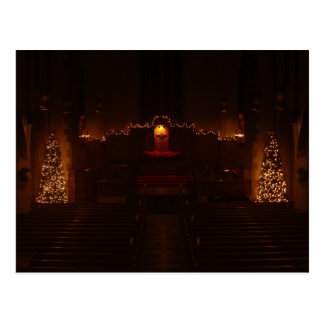 Harbison Chapel at Christmas Grove City College Postcard