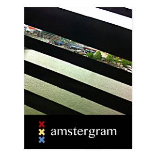 Harbor Amstergram Postcard