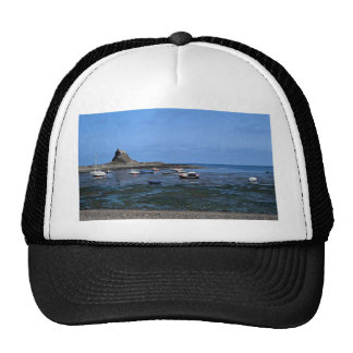 Harbor and Lindisfarne Castle, Holy Island Hat