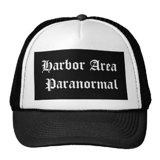 Harbor Area Paranormal cap