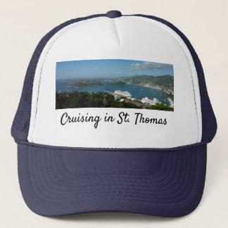 Harbor at St. Thomas US Virgin Islands Trucker Hat