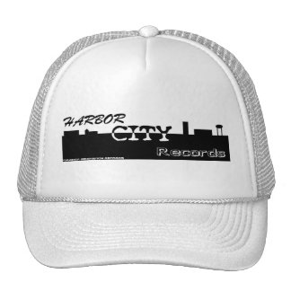 harbor city large logo cap
