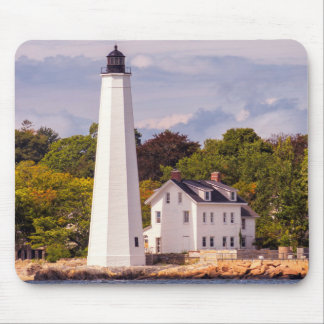 Harbor Light Mouse Pad