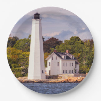 Harbor Light Paper Plate