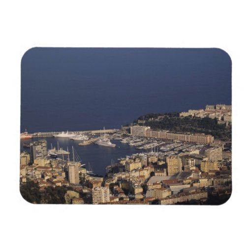 Harbor, Monte Carlo, French Riviera, Cote d' 2 Flexible Magnets