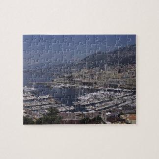 Harbor, Monte Carlo, French Riviera, Cote d' 3 Jigsaw Puzzle