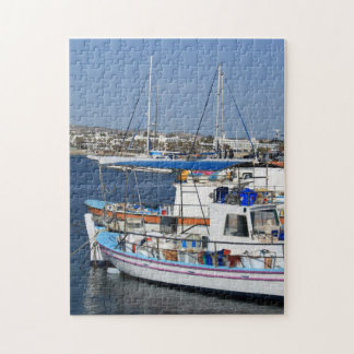 Harbor of Paphos Jigsaw Puzzle