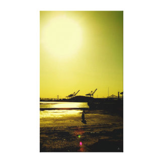 Harbor Park Canvas Print
