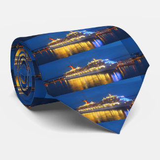 Harbor Reflections Double Sided Tie