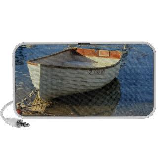 Harbor Row Boat Photography -Speakers Mini Speaker