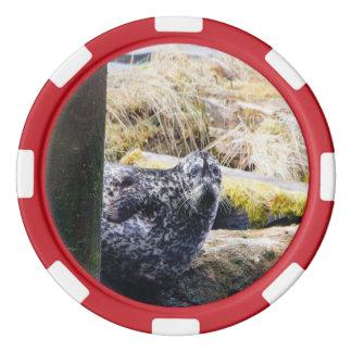 Harbor Seal Poker Chip
